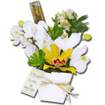 Clean de Orquideas com chocolates